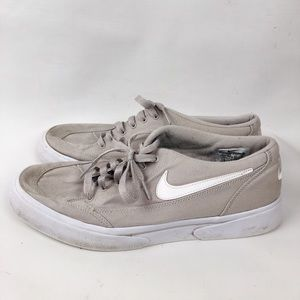 Nike Tan Skateboard Shoes Size 11